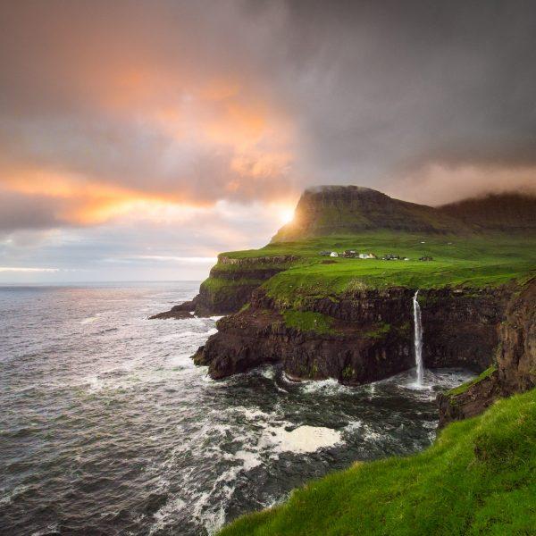 Midnight Sun in the Faroe Islands - A lost world